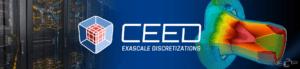 CEED co-design center website banner