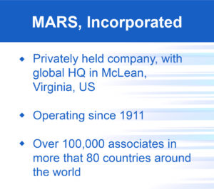 Mars, Incorporated, summary
