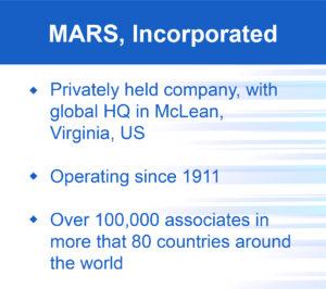 Mars, Incorporated, summary