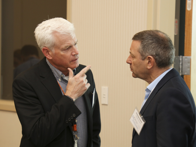 ECP Director Doug Kothe, Industry Council Member Christian Gianni (Whirlpool)