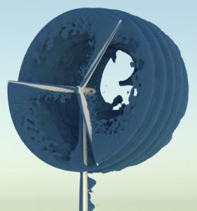 NREL 5 MW reference wind turbine