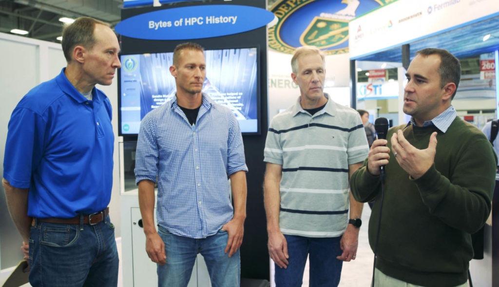 Scott Gibson, Matt Larsen, Eric Brugger, Cyrus Harrison