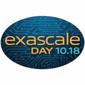 Exascale Day 10.18 logo