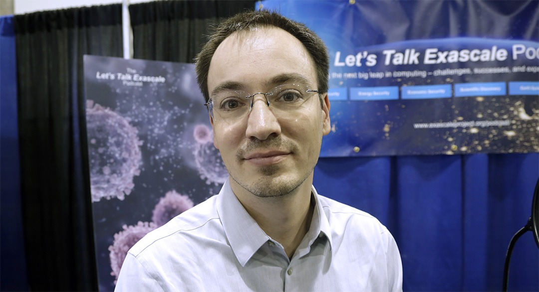 Christian Trott of Sandia National Laboratories