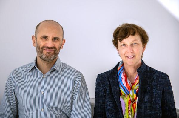 Lenny Oliker and Kathy Yelick of Lawrence Berkeley National Laboratory