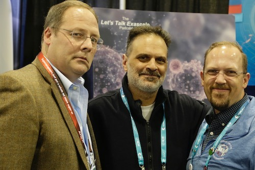 Peter Nugent, Berkeley Lab; Frank Alexander, Brookhaven Lab; Brian Van Essen, Livermore Lab
