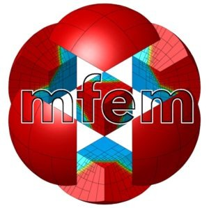 Logo for MFEM open-source scientific software