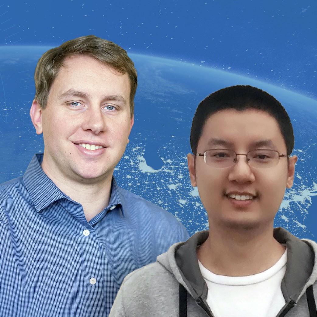 Brian Homerding of Argonne National Laboratory and Houjun Tang of Lawrence Berkeley National Laboratory