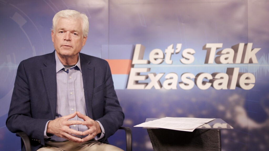 Exascale Computing Project Director Doug Kothe during a May 2021 podcast interview