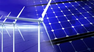 wind and solar renewable energy sources