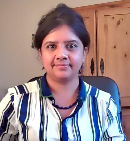 Sunita Chandrasekaran of Brookhaven National Laboratory